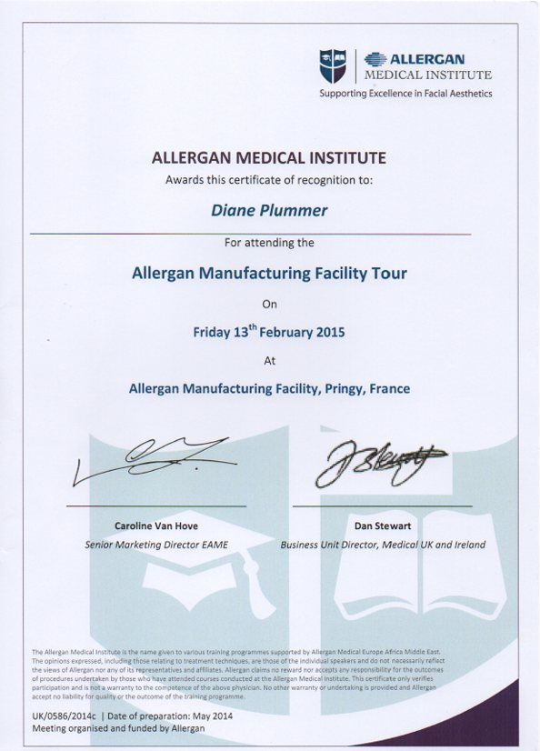Allergan Manufacturing Facility Tour Pringy France