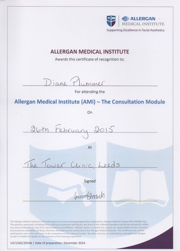 allergan medical institute consultation module