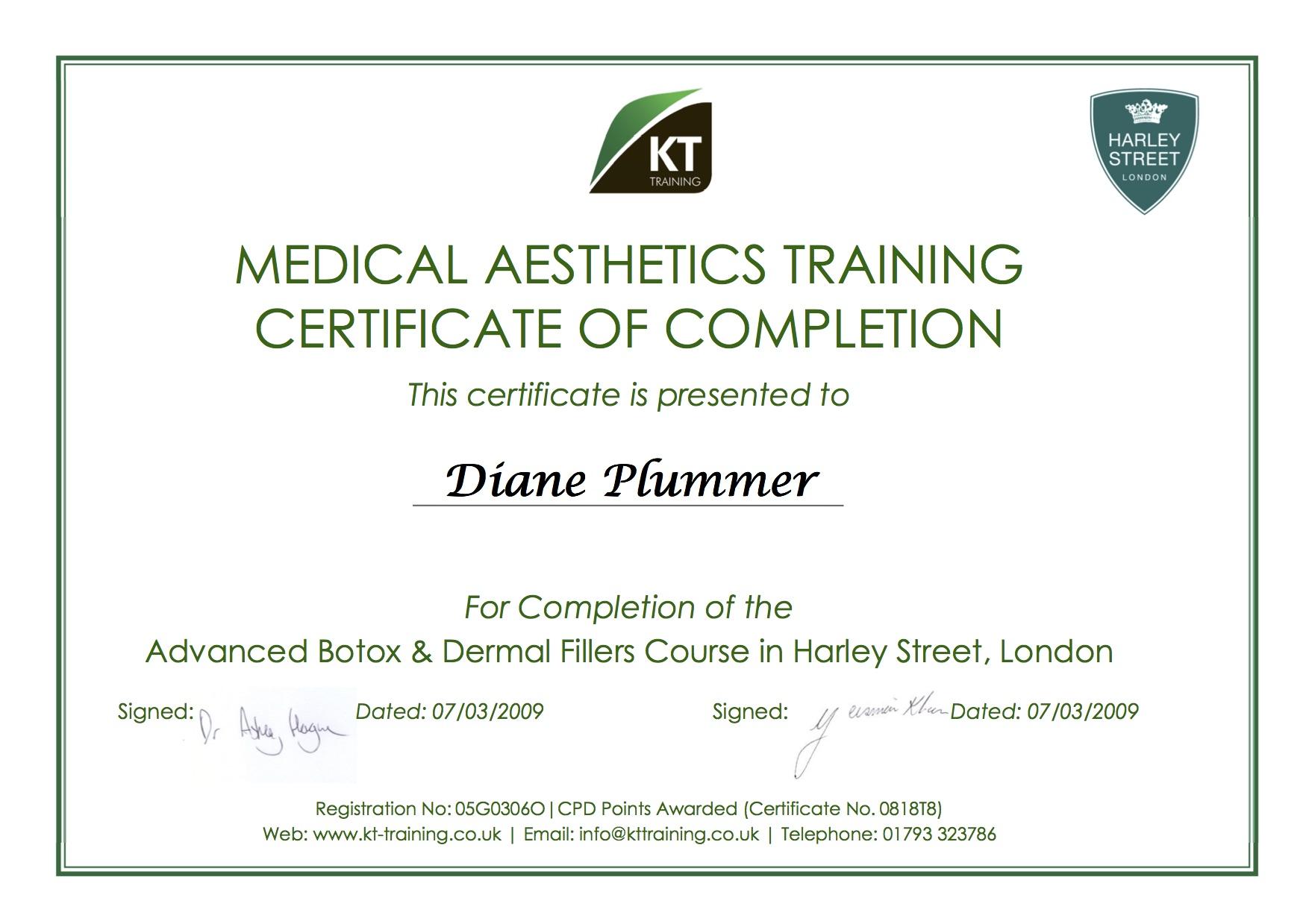 KT Training - Advanced Botox & Dermal Fillers 070309 - Revive